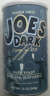 TJ's Joe's Dark Coffee
