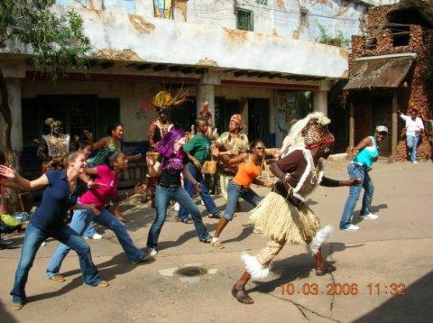 african dancers disney world