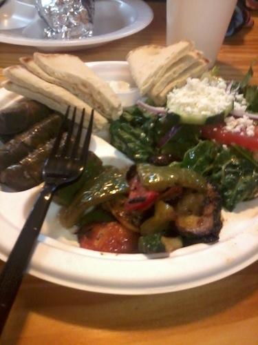 Jasmins mediterranean food