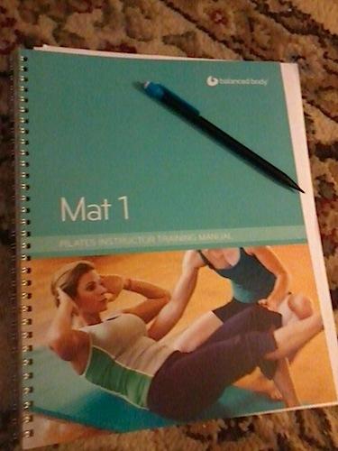 Pilates teacher training manual