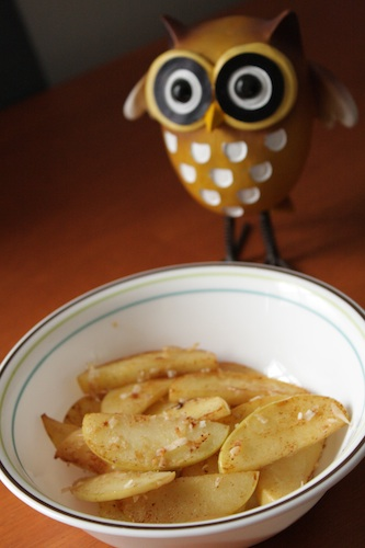 sauteed coconut apples