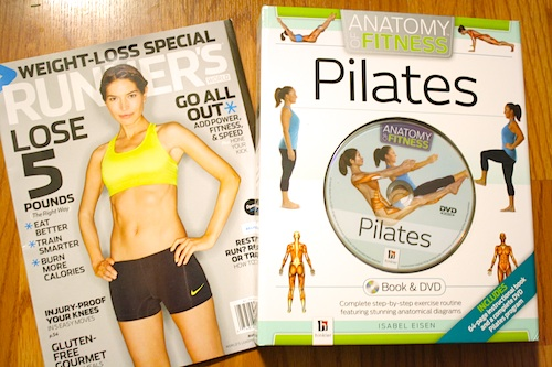 barnes and noble books runner's world pilates anatomy