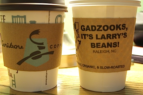 caribou coffee larry's beans